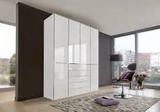 Kleiderschrank In Alpinwei 223 Mit Glasfronten Kaufen Bei
