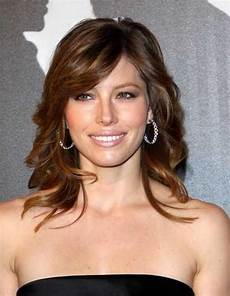 medium length haircuts with bangs and layers women hairstyles