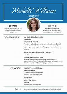 10 receptionist resumes free sle exle format
