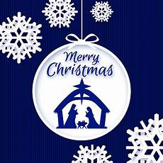 nativity merry christmas blue background stock illustration download image now istock
