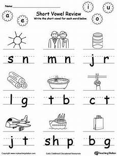 vowel letters worksheets for preschool 23657 vowel review write missing vowel part iii with images vowel worksheets