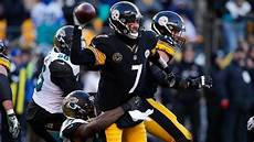 steelers jaguars playoffs jaguars shock steelers 45 42 advance to play patriots