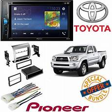 pioneer double 2 din avh 200ex dvd mp3 player 6 2 quot touchscreen bluetooth w toyota tacoma