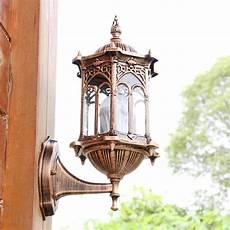outdoor bronze exterior wall light fixture