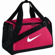 nike brasilia extra small training duffel bag pink black tennisnuts com