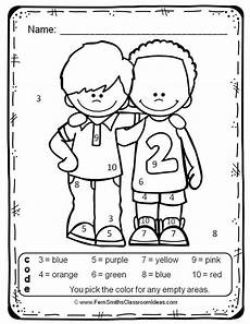 create color by number worksheets 16101 color by numbers your numbers while new friends atividades e escola