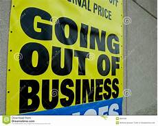 Going Out Of Business Stock Photo Image Of Person