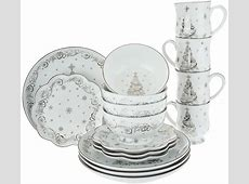 """As Is"" Temp  tations 16 pc. Dinnerware Set Choice, Winter"