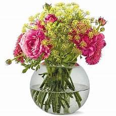 Bouquet De Fleurs Avec Vase Fleur De