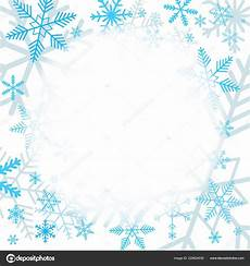 Blank Winter Invitation Background blue snowflakes white background blank area your message