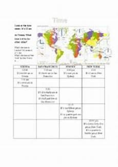 time zones esl worksheets 3790 worksheets time zones worksheets page 1