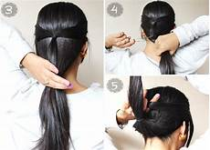 quick easy 2 minute casual updo