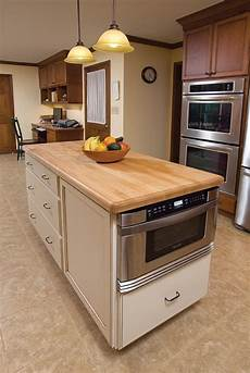 Kitchen Islands With Oven And Microwave by Microwave In Island Pros Cons