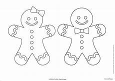 Ausmalbilder Weihnachten Lebkuchenmann Lebkuchen Printables Zum Ausdrucken Weihnachtskarten