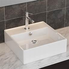 Keramik Waschbecken Tisch Wandmontage Waschschale