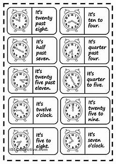 time worksheets for esl 3805 what 180 s the time dominoes con immagini imparare inglese grammatica inglese inglese