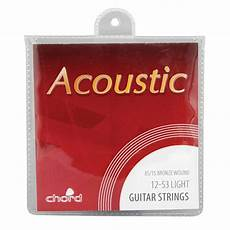 guitar strings 12 53 acoustic guitar strings light 6 string 12 53 uk ebay