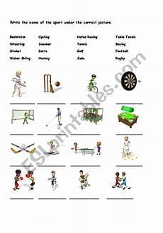 sport worksheets intermediate 15809 sports vocabulary esl worksheet by xcelair8