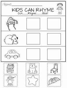 rhyming in kindergarten printables and center activities tpt language arts lessons rhyming