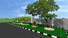 Desain Taman Trotoar Www Tukangtamanterbaik