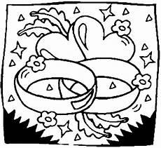 Ausmalbild Herz Hochzeit Eheringe Mit Herzen Ausmalbild Malvorlage Hochzeit