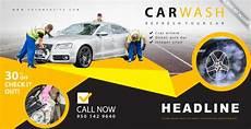 re levage voiture banni 232 re publicitaire de lavage de voiture vecteur gratuite