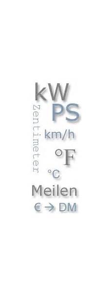 Umrechnen Kw Ps - einheitenumrechner km h in meilen uvm www 7 forum
