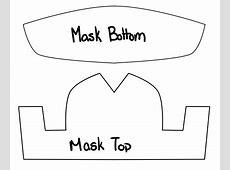 free pattern medical face mask