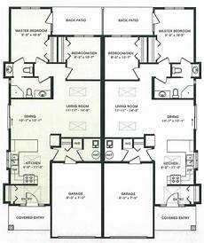 single story duplex house plans duplex house plans with garage one story duplex house
