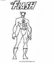 flash 46 gratis malvorlage in comic trickfilmfiguren