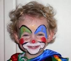 kinder clown schminken bildergebnis f 252 r kinderschminken clown kinder schminken