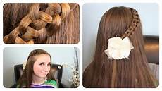 4 strand quot slide up quot braid cute girls hairstyles youtube