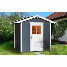Obi Holz Gartenhaus Monza A Anthrazit Weiss Bxt 205 Cm X