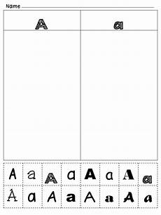 alphabet worksheets for letter recognition 23434 pin on teaching