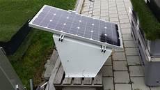 Stromversorgung Garage by Die Solargarage F 252 R Rasenroboter