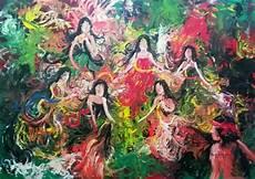 Gt Gt Lukisan Abstrak Karya Heno Airlangga Heno Airlangga