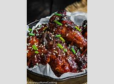 pineapple chicken wings_image