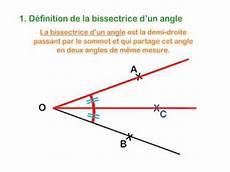 Cours De Maths 6 232 Me Sur La Bissectrice D Un Angle
