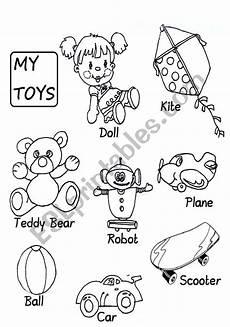 worksheets colors and toys 12707 toys esl worksheet by aprilzoom