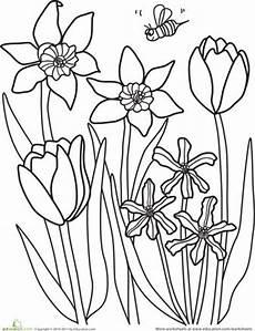 Ausmalbilder Ostern Blumen 1000 Images About Preschool Easter On