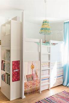 kinderzimmer hochbett ideen ein selbst gebautes hochbett im kinderzimmer kinder
