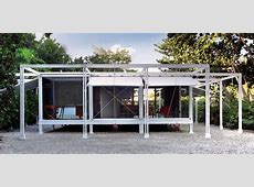 PAUL RUDOLPH   THE WALKER GUEST HOUSE   Important Design