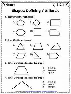 1st grade geometry worksheets 1st grade math worksheets geometry