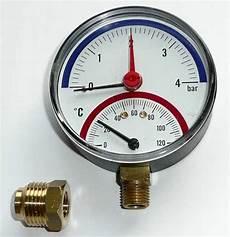 Heizung Manometer Druck Klimaanlage Und Heizung