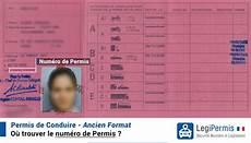 numero de permis de conduire sur nouveau permis num 233 ro de permis o 249 trouver le code neph legipermis