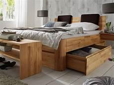 Massivholzbett Mit Bettkasten - massivholz doppelbett mit bettkasten zarbo betten de
