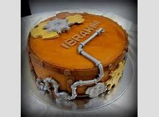 This cake was for a mechanical engineer. So cute!   Cakes
