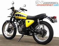 Modif Scorpio Minimalis by Foto Modifikasi Yamaha Scorpio Klasik Si Kuning Minimalis