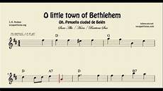 o little town of bethlehem sheet music for alto saxophone baritone saxophone and horn e flat