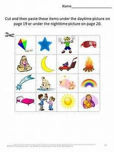 time of day worksheets for kindergarten 3596 image result for day and time for kindergarten preschool activities preschool literacy